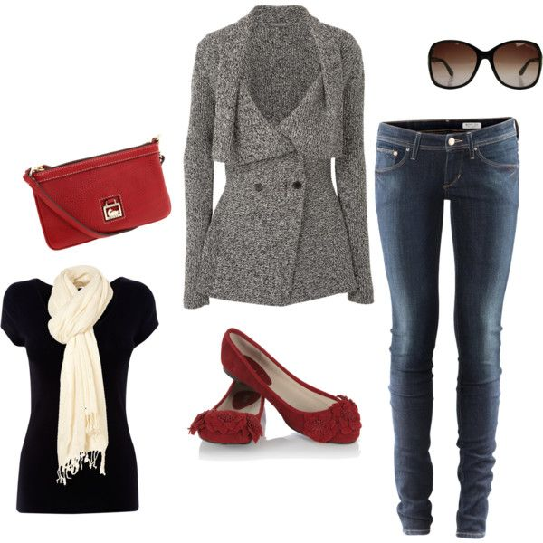 An NYC Afternoon: Outfits, Fashion, Skinny Jeans, Style, Red Shoes, Clothes, Fall Winter