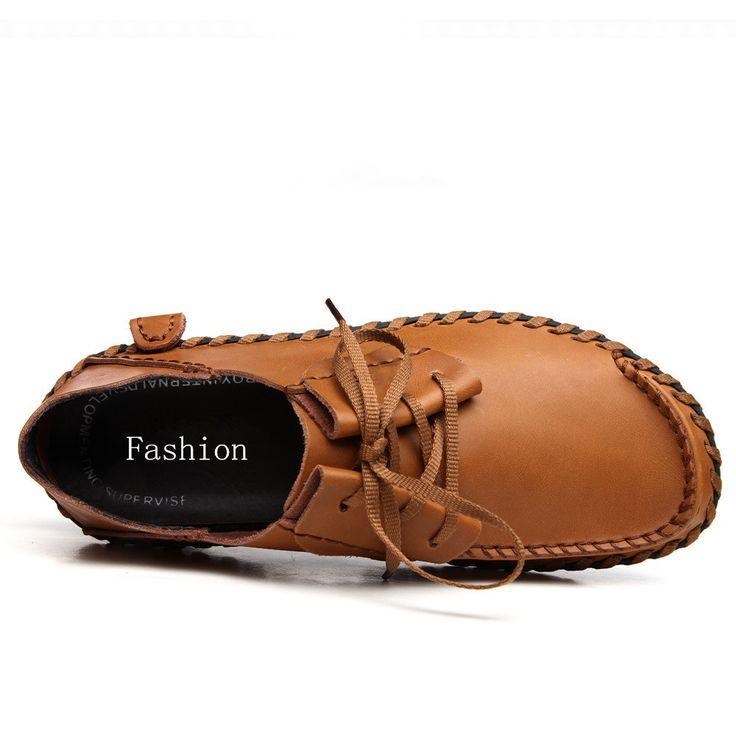 Мягкие Кожаные Мужские Летние Туфли Мокасины Обувь Мужчины Квартиры Свободного Покроя Мужчины Мокасины Мягкий Кожа Обувь Лето Воздухопроницаемый Отверстие