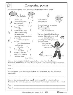 89 best Poetry lessons images on Pinterest | 2nd grades ...