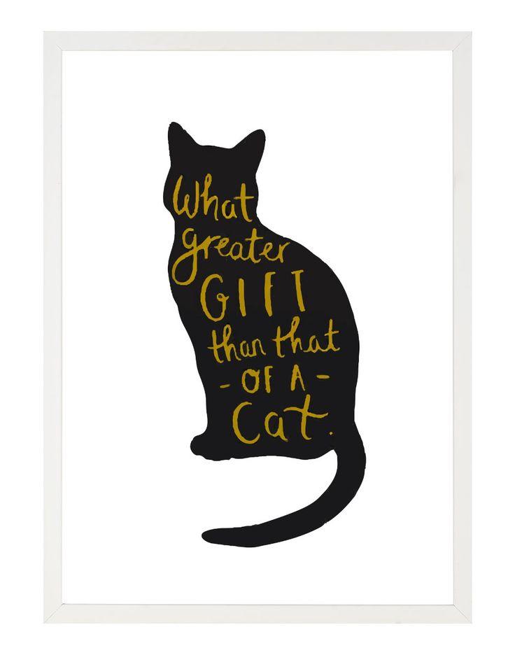 Tablou - Cat gift