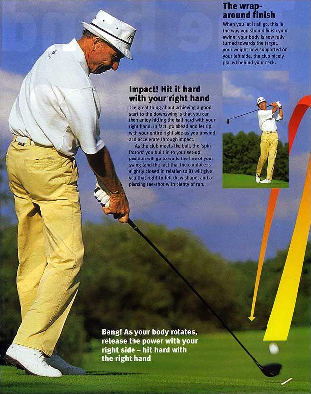 Sling Shot - More Distance for Senior Golfers   Golf   Golf tips
