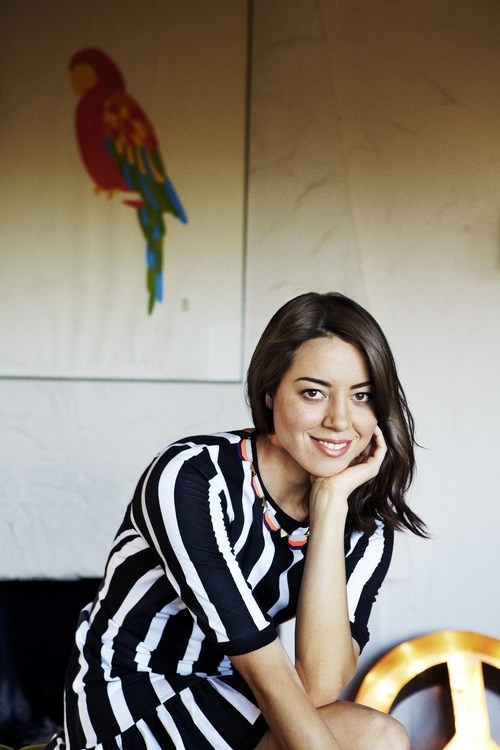 """They thought I had a brain tumor once, but I didn't. I just had a weird personality."" - Aubrey Plaza"