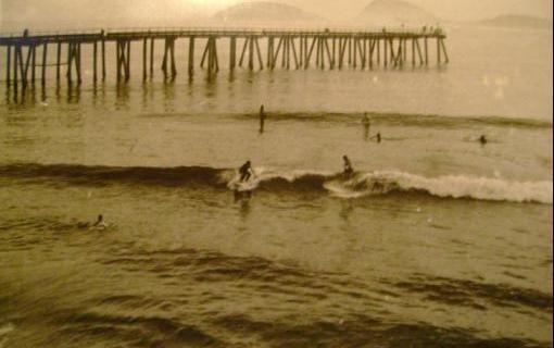 Esportes de Praia   Criador de site sobre Píer de Ipanema relembra período de sua existência