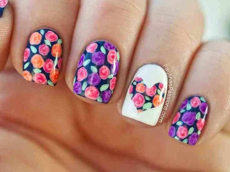 Corazon flores