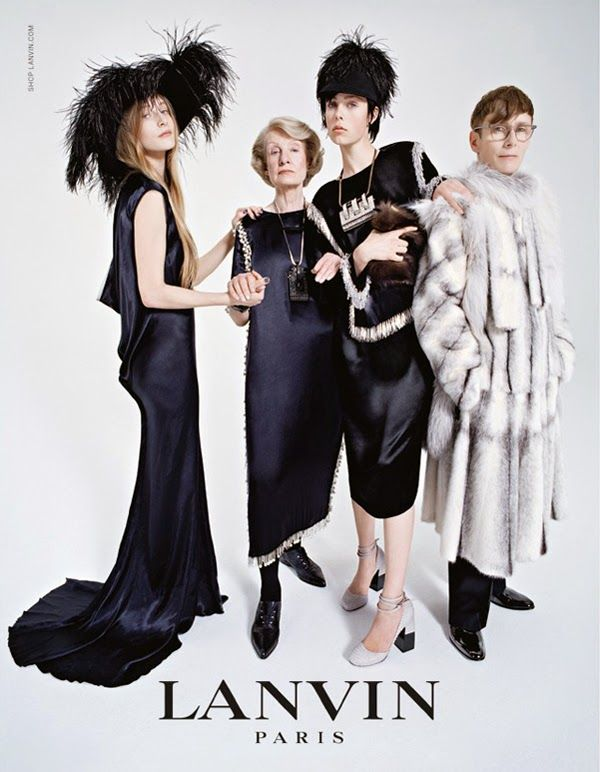 FAMÍLIA LANVIN PARA ESTE OUTONO 2014 ~ ... And This is Reality