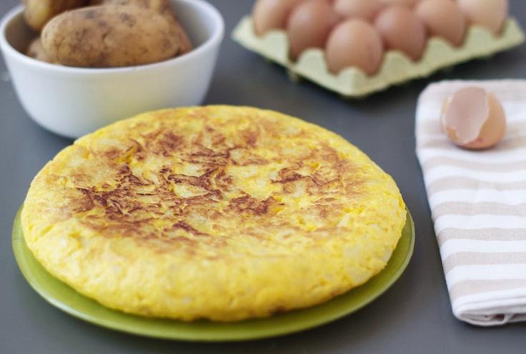 Tortilla Española. Receta con microondas