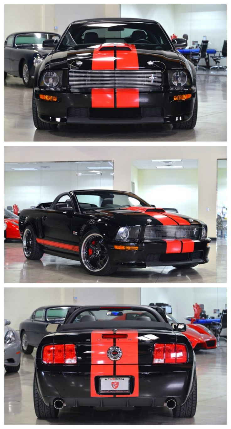 Ford mustang conv shelby