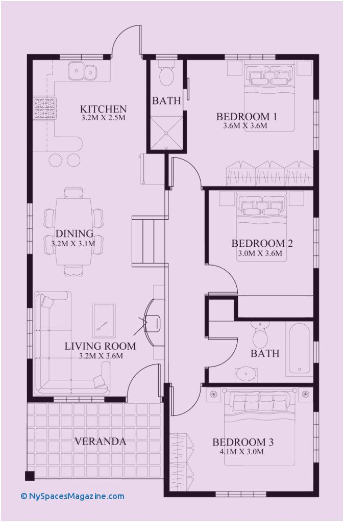 62 Awesome House Design 70 Sqm Small House Design Bungalow