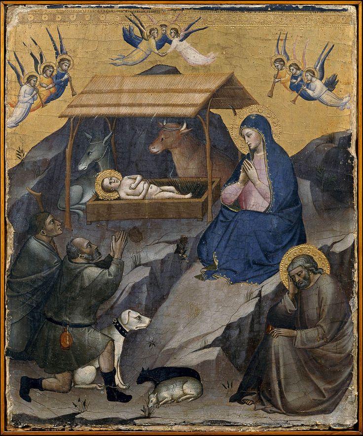 Мариотто ди Нардо «Рождество» ок. 1385 Музеи Ватикана