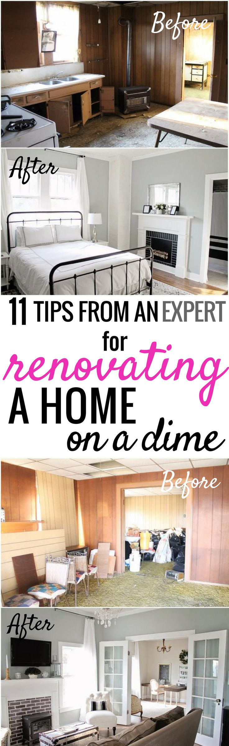 How she renovated and decorated her home