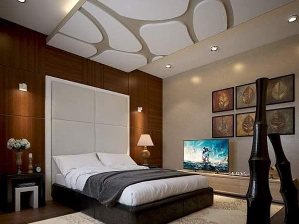 Pin By Amin Aboud On Placoplatre Plafond In 2020 Ceiling Design Living Room Bedroom False Ceiling Design Pop False Ceiling Design