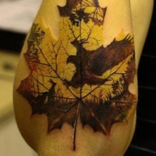 : Tattoo Ideas, Autumn Leaves, Body Art, Mapleleaf, Beautiful Tattoo, Maple Leaf, Maple Leaves, Tatoo, Leaf Tattoo