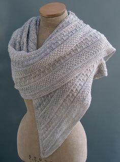 Paid Lichen & Moss shawl
