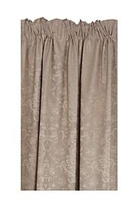 2 PACK VALENCIA 230X218CM TAPED CURTAIN