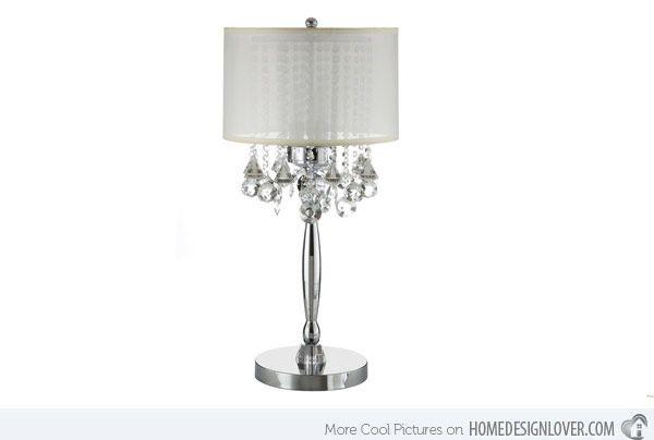 20 Beautiful Bedroom Table Lamp Variations