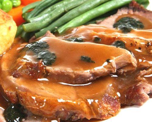 carne de cerdo en salsa de jerez