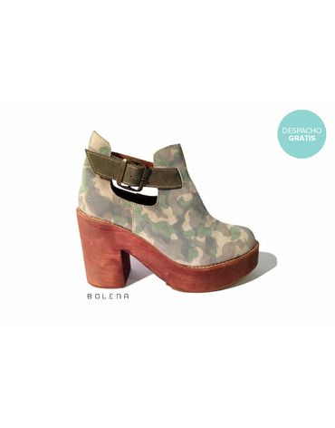 Botín Adele Militar | Chilean handmade shoes
