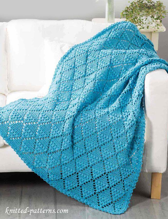 Lace Throw Crochet Pattern Free ~k8~