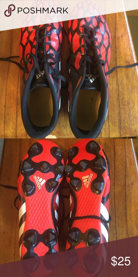 Adidas Predito Soccer Cleats In good used condition. Worn about five times only on grass or terf. adidas Shoes Athletic Shoes