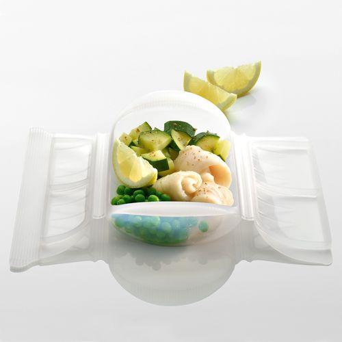 Platillo de pescado con verduras al limón | Recetas microondas,Recetas de pescado,Segundos platos,Microondas | Recetas Lékué