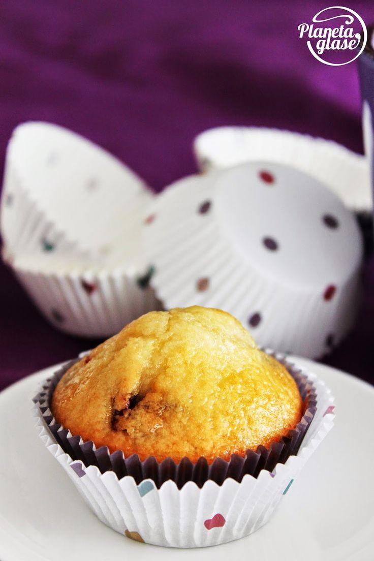Planeta Glasé: Muffins de arándanos y limón