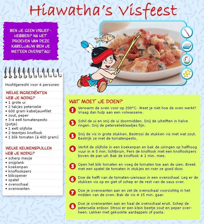 Hiawatha's visfeest