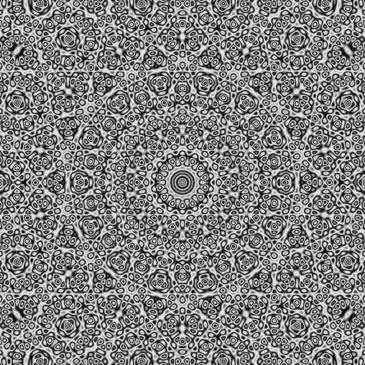 Quasicrystals as sums of waves in a plane / via gabe