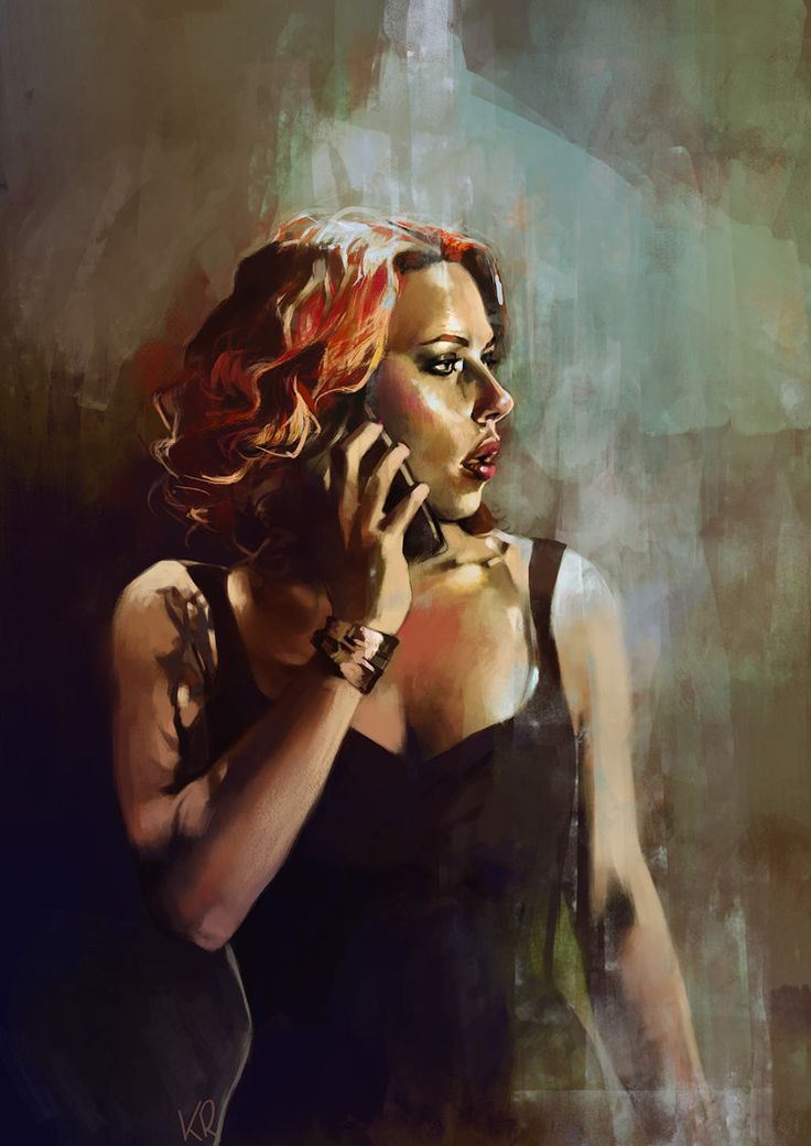 Natasha Romanoff by kittrose on deviantART