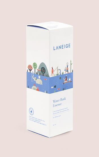 Laneige packaging design by Lotta Nieminen.
