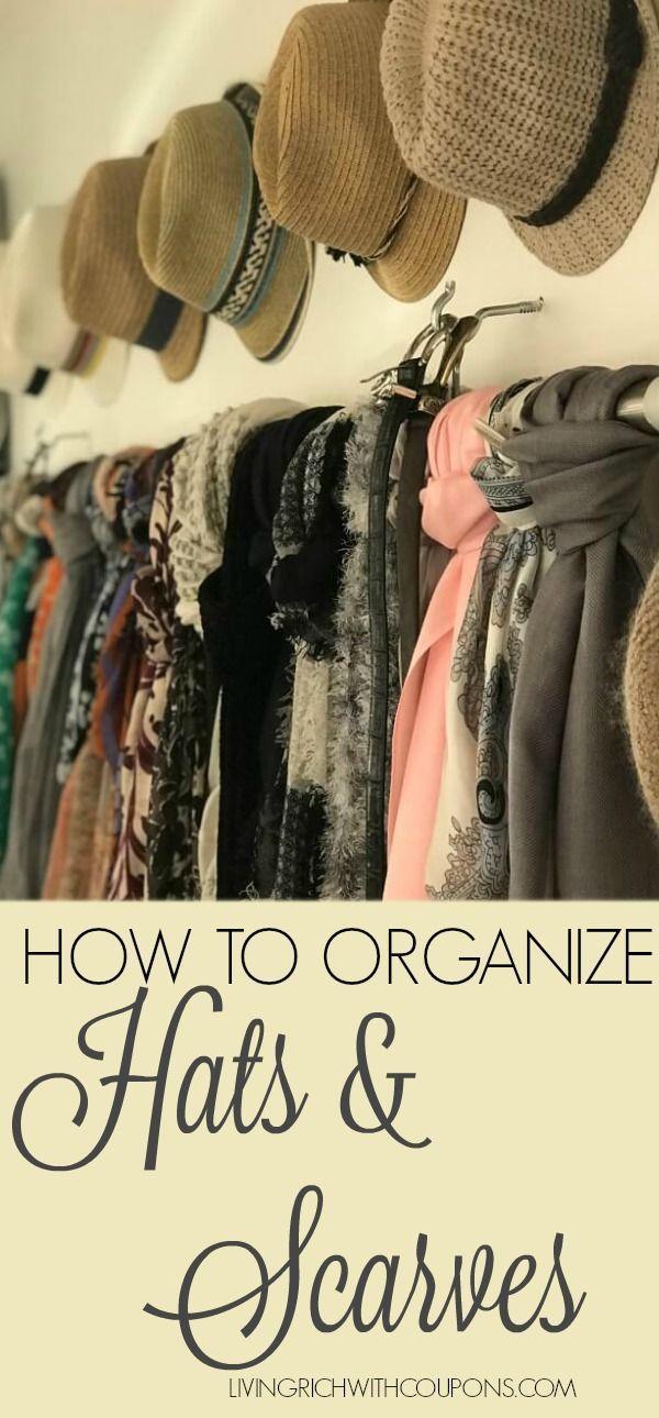 How I Got My Dream Closet For Under 425 Scarf Organization