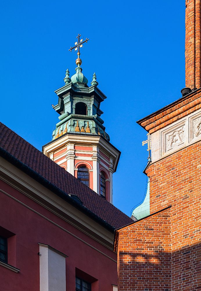 Old Town - Jesuit Church - the Church of the Gracious Mother of God