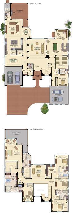 Oltre 25 fantastiche idee su planimetrie di case su for Aprire i piani casa a due piani di concetto