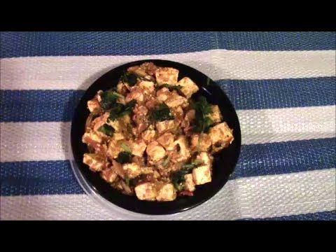 Shai Paneer Recipe