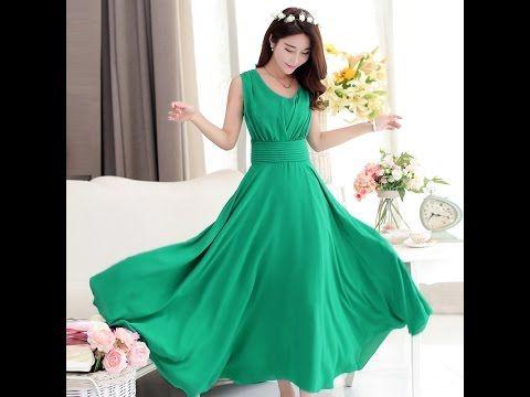 Платье отрезное с драпировкой. - YouTube