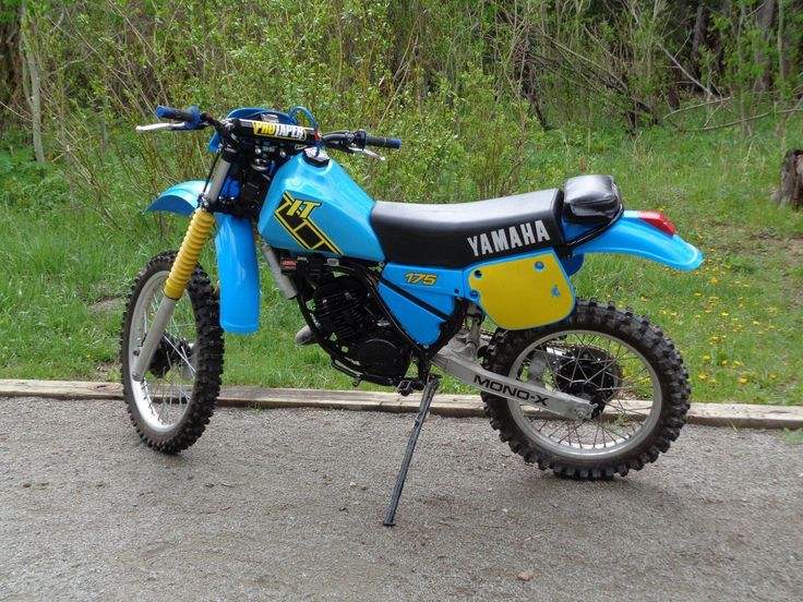 83 yamaha it175 vintage dirt bike dirt bikes bikes and for Yamaha mini dirt bikes