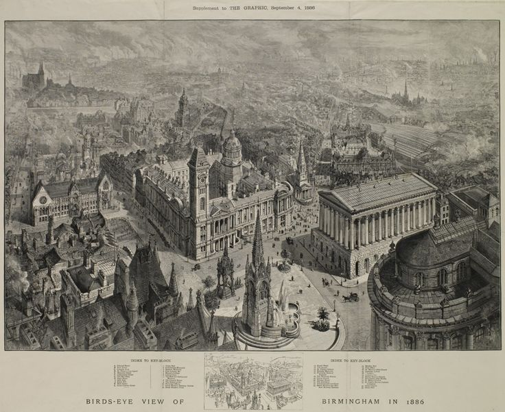 Birmingham in 1886. This was the era when the Birmingham Triennial Festivals in the Town Hall were going strong - with the Birmingham Festival Choral Society providing the singers for the choral works.