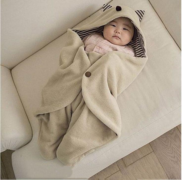 Aliexpress.com: Comprar Multifunción infantil del bebé de sobres de empañar Fleece Blanket caliente capucha Wrap Saco de Dormir Saco de Dormir Para Para Bebe lactante de mantas toallas fiable proveedores en Shopping Village