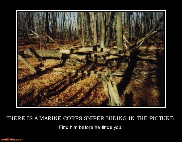 If you're reading this and you haven't found him, you're dead. If you have found him... you're still dead.