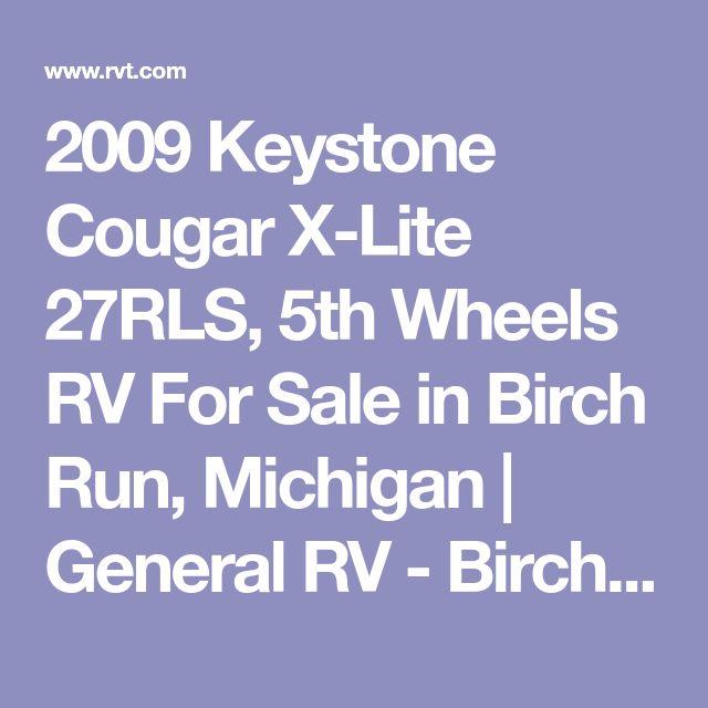 2009 Keystone Cougar X-Lite 27RLS, 5th Wheels RV For Sale in Birch Run, Michigan | General RV - Birch Run 785945-165003 | RVT.com - 204780