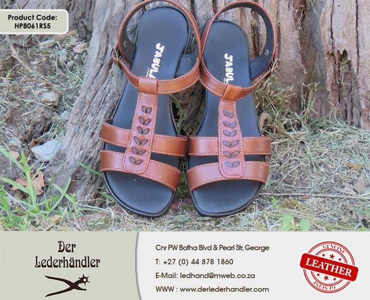 Beautify your feet in a gorgeous brown genuine leather pair of #Jabulani sandals from #DerLederhandler. For more information, enquire now at http://anapp.link/5v3 (Desktop) or http://anapp.link/5v4 (Mobile) or visit our website: http://asite.link/5we. #genuineleather #sandals
