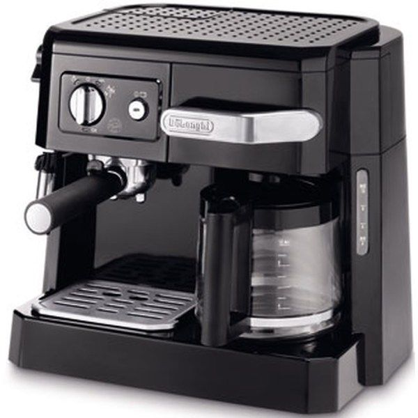 """combine-""""expresso-#cafetiere-delonghi-bco-415-1 #Café expresso ou café filtre ? La cafetière combiné Delonghi BCO 415.1 vous laisse le choix !"""