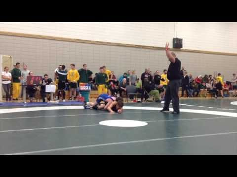 2016 Huskie Open 61 kg Kevin Young vs Lonnie Albertson
