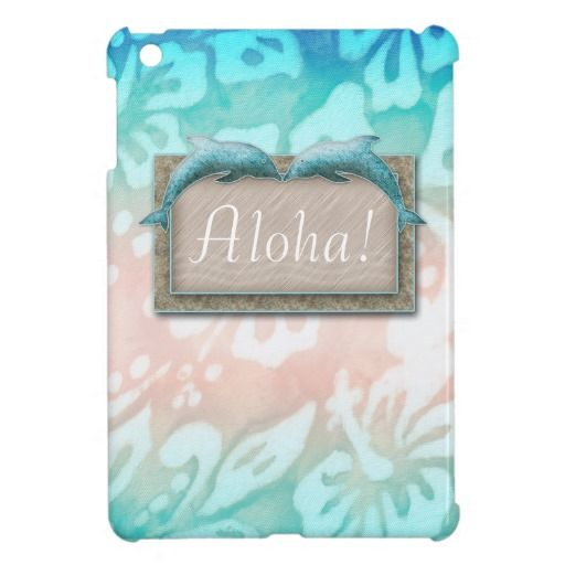 Beach Wedding Dolphin Luau Party Nautical Aloha iPad Mini Cases SAVE 14.92% ... just click to see details!! reg: $47.95