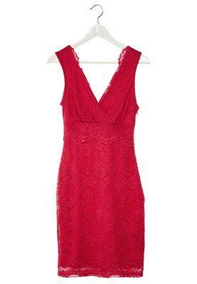 Sukienka etui - pink