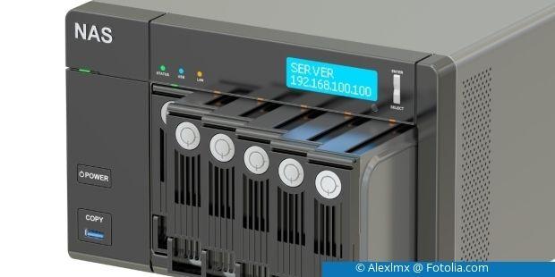 Mit der Zeit stößt Ihr NAS an die Grenze der Kapazität. Tauschen Sie die Festplatten dann einfach gegen größere Modelle aus!