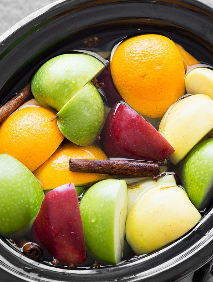Make homemade apple cider from scratch in the slow cooker. This is the perfect holiday drink and It's also great when used in recipes like donuts, cupcakes, muffins, etc.