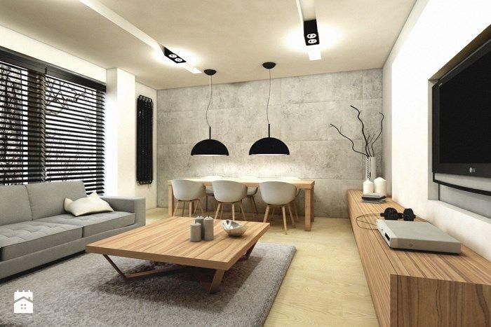 Salon styl Minimalistyczny - zdjęcie od design me too - Salon - Styl Minimalistyczny - design me too