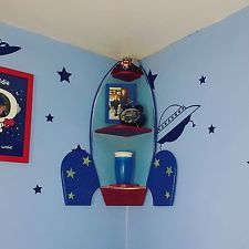 Image result for rocket ship bookshelf