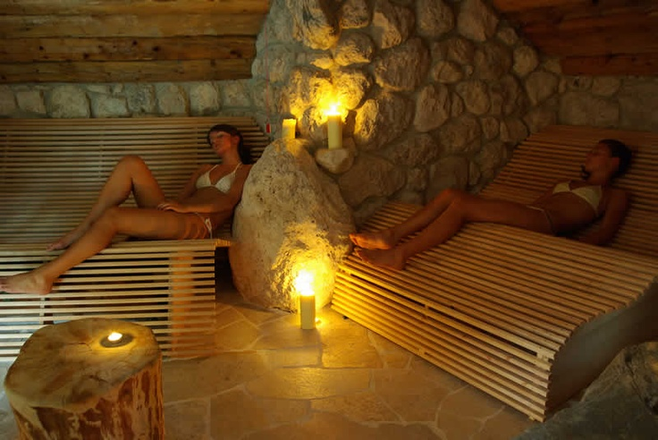 Area relax al Naturhotel Lüsnerhof di Luson in Alto Adige