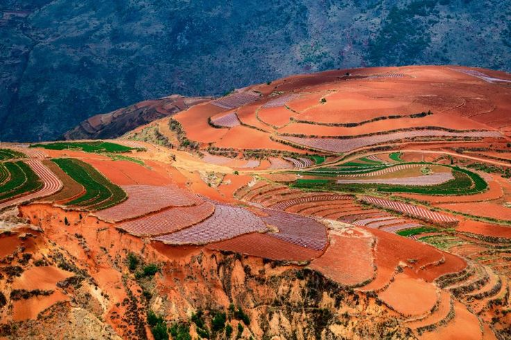 Dongchuan Red Land , Chiny